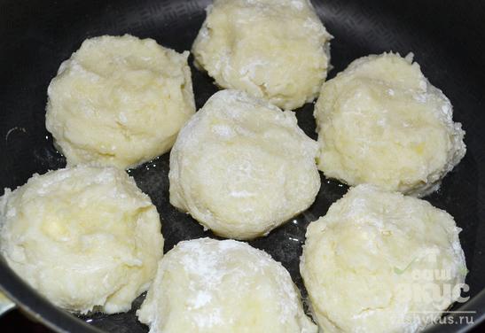 Картофельные котлеты из пюре