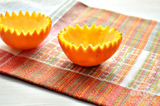 Салат с апельсинами и грецкими орехами