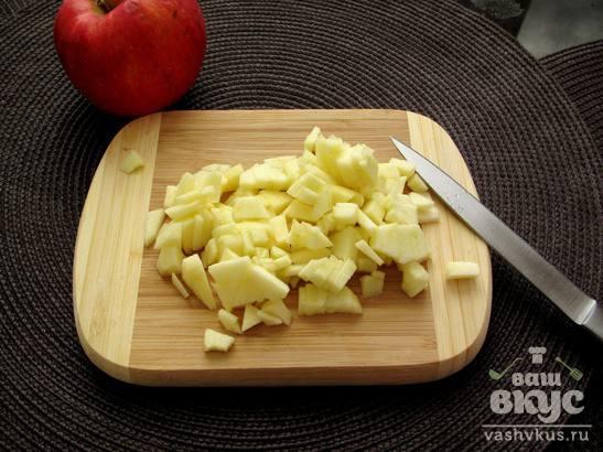 Сырники с яблоком и корицей