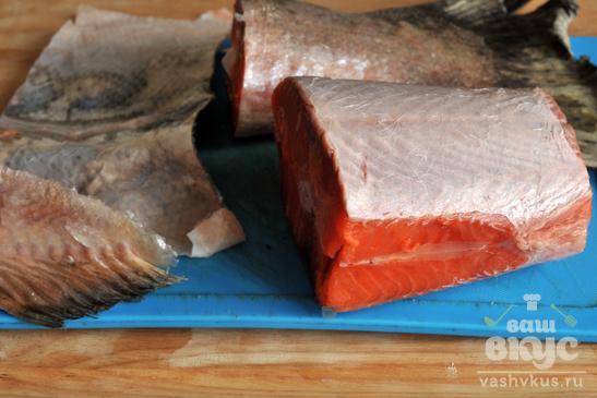 Сагудай из лосося по-сибирски