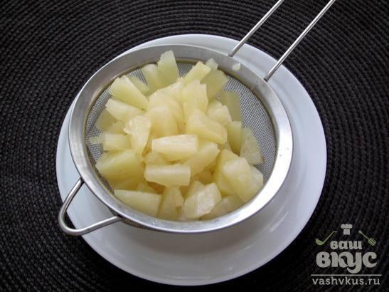 Сырники с ананасом
