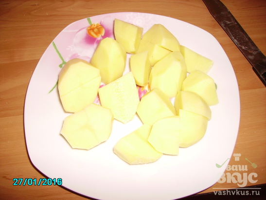 Картофельные блинчики тонкие