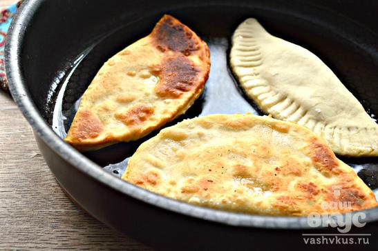 Чебуреки с картофелем