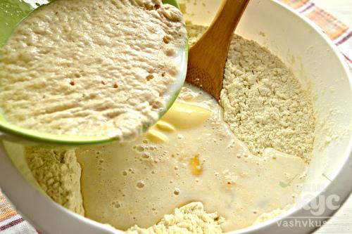 Дрожжевое тесто на майонезе и белках