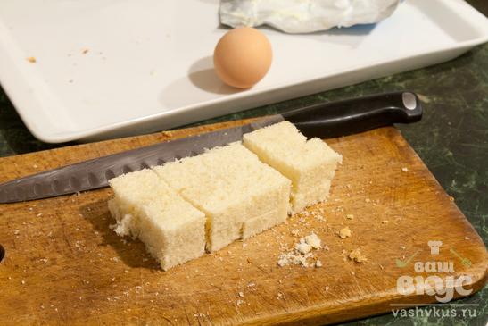 Канапе с солёным огурцом и яйцом