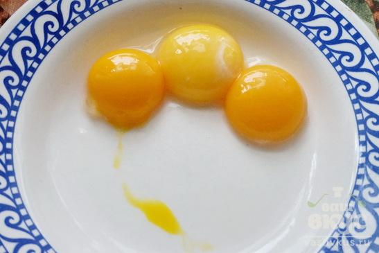 Яйцо в слоеном тесте