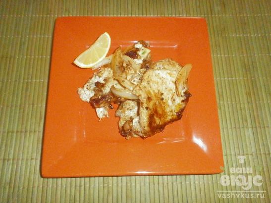 Свинина с имбирем и лимоном