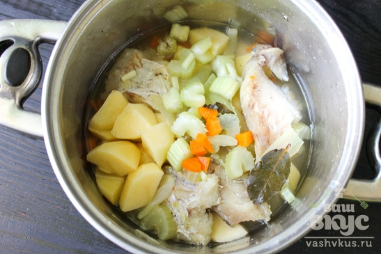 Рыбный суп с треской
