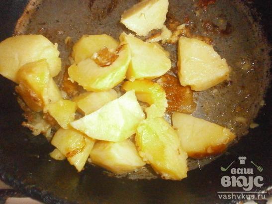 Вареный картофель по-деревенски