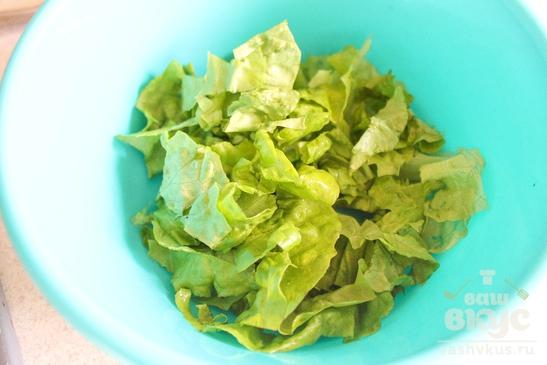 Весенний салат из редиса