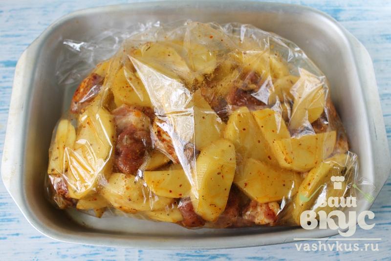 жаркое из свинины и картофеля в духовке